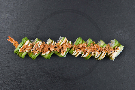Foto Soft shell ebi roll